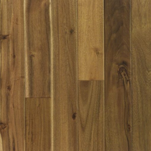 Solid Acacia Hardwood Natural Handscraped Mid Leaf