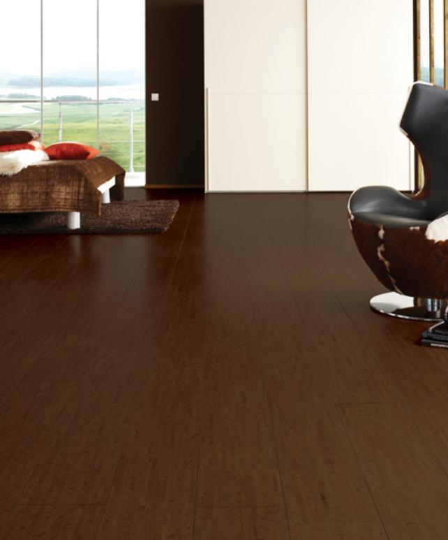 Cork Flooring Narrow Plank Macchiato SF World Floors Direct - Cork flooring closeout