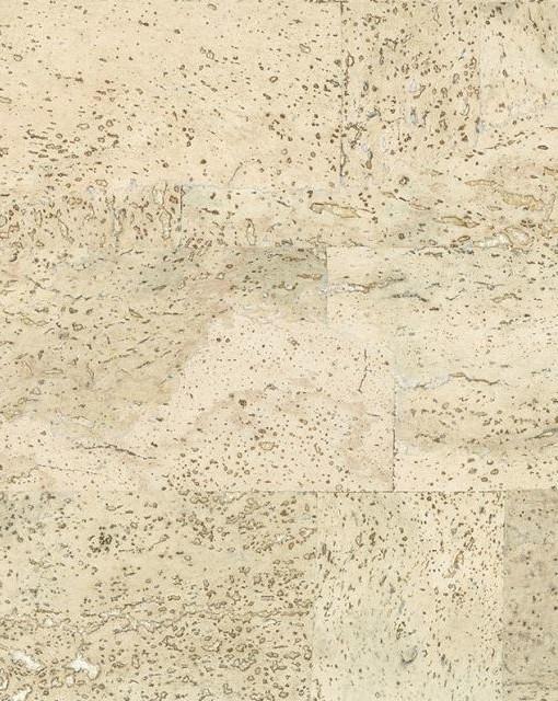 Country White Brick Cork Wall Tile